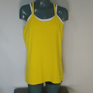 Like New!! Marmot tank top with built in bra